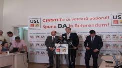 Conferință de presă susținută de Victor Ponta