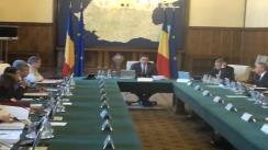 Ședința Guvernului României din 31 iulie 2012 (imagini protocolare)