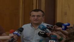 Declarații de presă susținute de prim-vicepreședintele PDL, Cristian Preda, înaintea reuniunii Biroului Permanent Național cu grupurile parlamentare a PDL