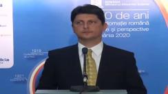 RADR 2012. Declarații de presă susținute de ministrul Afacerilor Externe al României, Titus Corlățean