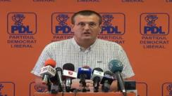 Conferință de presă susținută de Europarlamentaru PDL, Cristian Preda