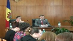 Conferință de presă susținută de reprezentantul Guvernului în municipiul Chișinău, Sergiu Palihovici, cu privire la procesul de judecată ce vizează construcția noului sediu al Partidului Comuniștilor din Republica Moldova