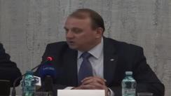 Conferință de presă susținută de Vasile Bumacov și Petr Bendl, ministrul Agriculturii al Republicii Cehe