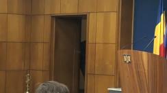 Conferință de presă susținută de prim-ministrul României, Victor Ponta