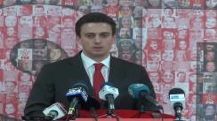 Conferința de presă susținută de europarlamentarul PSD, Cătălin Ivan
