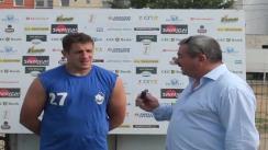 Declarațiile căpitanului echipei Baia Mare după meciul CSM Baia Mare - Steaua București