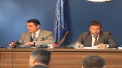 Ministerul Transporturilor organizează o conferință de presă pentru prezentarea noii structuri de management privat la compania TAROM