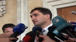 Declarații pentru presă ale deputatului PD, vicepreședintele parlamentului, Alexandru Stoianoglo, după ședința parlamentului din 8 iulie 2010