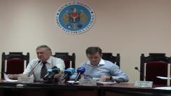 Comisia Electorală Centrală pune în discuție proiectul regulamentului privind reflectarea campaniei electorale pentru referendumul constituțional din 5 septembrie 2010 în mijloacele de informare în masă