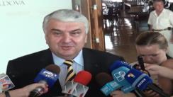 Declarații pentru presă ale prim-vicepreședintelui parlamentului, Serafim Urecheanu, după ședința parlamentului din 15 iulie 2010