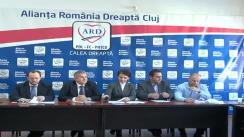 Conferință de presă susținută de ARD filiala Cluj Napoca