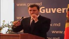 Comentariul prim-ministrului Vlad Filat cu privire la zvonurile precum că Guvernul nu ar avea bani pentru construcția caselor pentru sinistrați