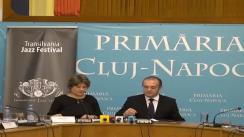 Conferința de presă săptămânală a primarului municipiului Cluj-Napoca dl. Emil Boc