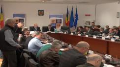 Ședința extraordinară a Consiliului Județean Cluj din 15 noiembrie 2012