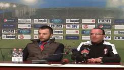 Conferință de presă după meciul CFR 1907 Cluj - Astra Ploiești, scor 0:2