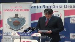 Conferință de presă susținută de candidatul ARD în Colegiul 19, Camera Deputaților, Mircea Raicu