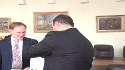 Întîlnirea dintre dl. Cristian Adomniței, Președintele Consiliului Județean Iași și Excelenței Sale Martin Harris, Ambasadorul Marii Britanii la București