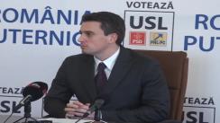 Conferință de presă susținută de europarlamentarul Catalin Ivan, liderul delegației PSD din Parlamentul European