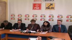 Conferință de presă cu participarea Ministrului Muncii, Familiei și Protecției Sociale,  Mariana Câmpeanu, vicepresedintelui PNL Cluj, Steluța Cătăniciu, și Chestorului Senatului, Alexandru Cordos