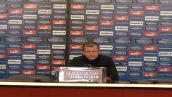 Conferință de presă după meciul CFR Cluj - Dinamo București
