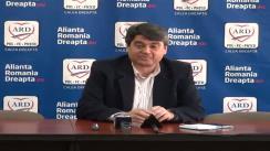 Conferință de presă ARD Cluj cu participarea dl. Alexandru Coroian