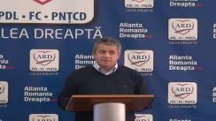 Conferință de presă ARD Cluj susținută de dl. deputat Daniel Buda