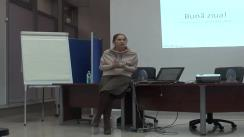 Workshop PRbeta la Iași, trainer - Monica Jitariuc