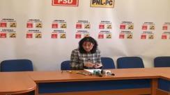 Conferință de presă organizată de vicepreședintele PNL Cluj Steluța Cătăniciu