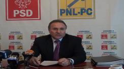 Conferință de presă susținută de vicepreședintele PSD și președintele PSD Iași, primarul Gheorghe Nichita