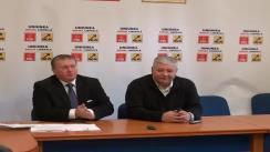 Conferință de presă Remus Lăpușan, președintele PSD Cluj și senatorul Marius Nicoară, președintele PNL Cluj