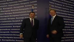 Întrevederea prim-ministrului Republicii Moldova, Vlad Filat, cu Comisarul pentru Extindere și Politică Europeană de Vecinătate, Stefan Fule. Imagini preluate de pe gov.md