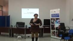Workshop PRbeta la Iași, traineri - Irina Ilie și Alex Negrea