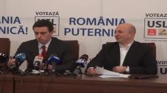 Conferință de presă susținută de europarlamentarul PSD, Cătalin Ivan
