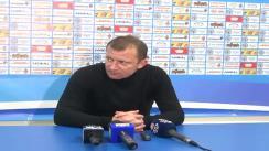 Conferință de presă după meciul CSMS Iași - Dinamo București 1:1