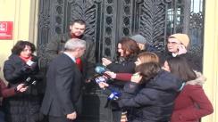 Declarații lui Liviu Dragnea înaintea ședinței Biroului Permanent Național al PSD