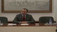 Conferință de presă susținută de Președintele Consiliului Județean Iași - Cristian Adomniței