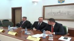 Conferință de presă organizată de conducerea Aeroportului Internațional Iași. Lansarea noului site