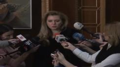 Declarațiile deputatei PDL, Roberta Anastase, înainte de ședința Colegiului Director Național al PDL