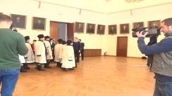 Spectacol de colinde susținut de Grupul de Colindători din Monor, Bistrița-Năsăud la Primăria Municipiului Iași