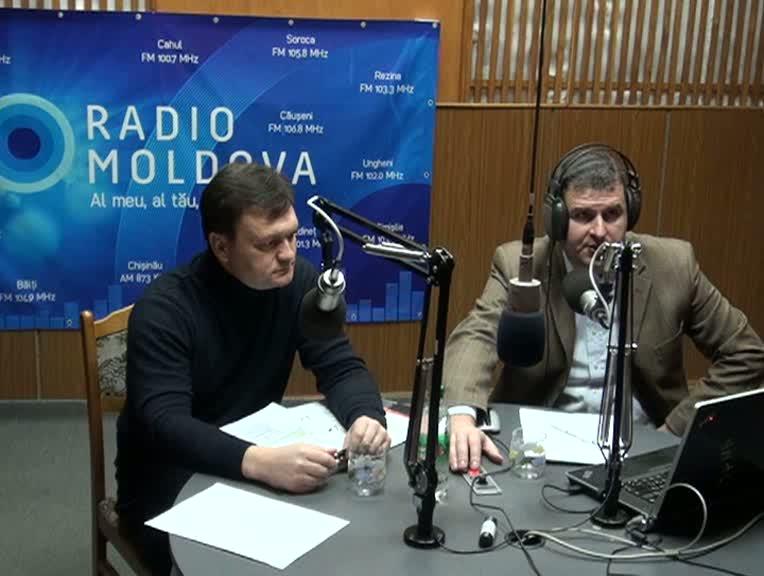 """Radio Moldova. """"Viața Publică"""". Invitat - Dorin Recean"""