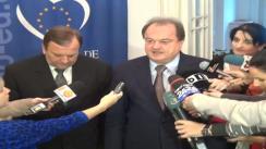 Declarațiile președintelui  PDL , Vasile Blaga după întâlnirea cu Președintele României, Traian Băsescu