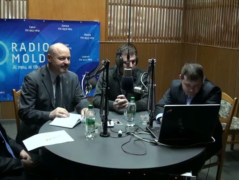 """Radio Moldova. """"Contrapunct"""". Invitați - Valeriu Ghilețchi, Valeriu Munteanu, Anghel Gheorghe"""