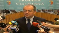 Declarații oferite de primarul municipiului Cluj-Napoca, dl. Emil Boc
