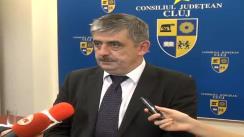 Declarații de presă după ședința Consiliului Județean oferite de dl. Horia Uioreanu, președintele CJ