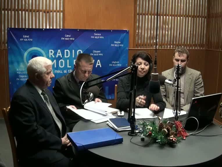 """Radio Moldova. """"Pro și Contra"""" din data de 21 decembrie 2012"""