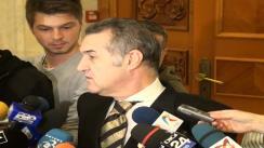 Declarațiile lui Gigi Becali după depunerea juramântului în Camera Deputaților