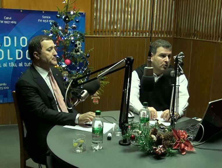 "Radio Moldova. ""Viața Publică"". Invitat - Vlad Filat"