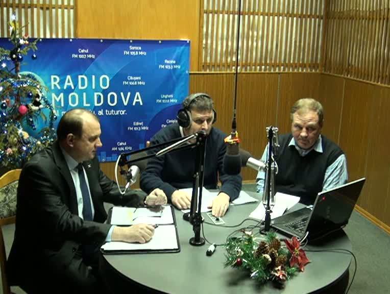 """Radio Moldova. """"Spațiul Public"""". Invitați - Vasile Bumacov și Mihai Manole"""
