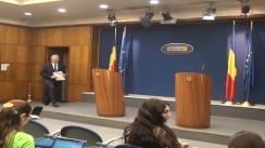 Conferință de presă susținută de viceprim-ministru Liviu Dragnea după ședința Guvernului României din 9 ianuarie 2013