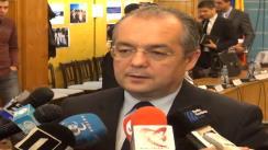 Declarații de presă Emil Boc, primarul municipiului Cluj-Napoca, după ședința Consiliului Local